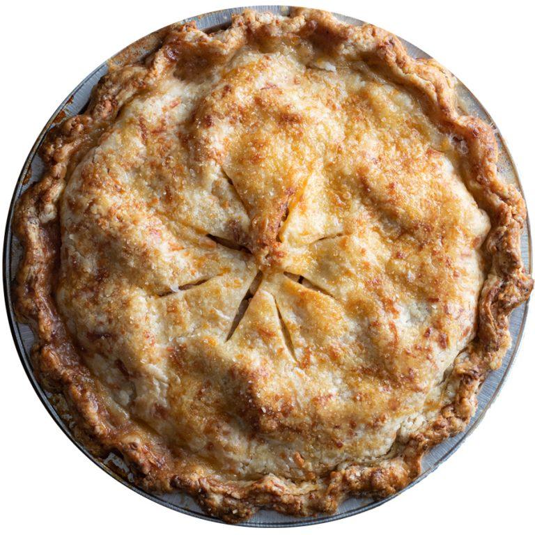 Bacon Cheddar Apple Pie