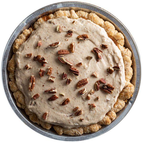 Butterscotch Praline Pie
