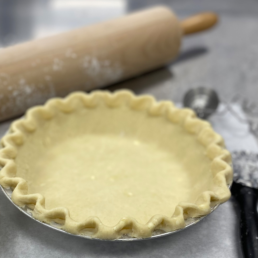 Pan-Pressed Pie Crust